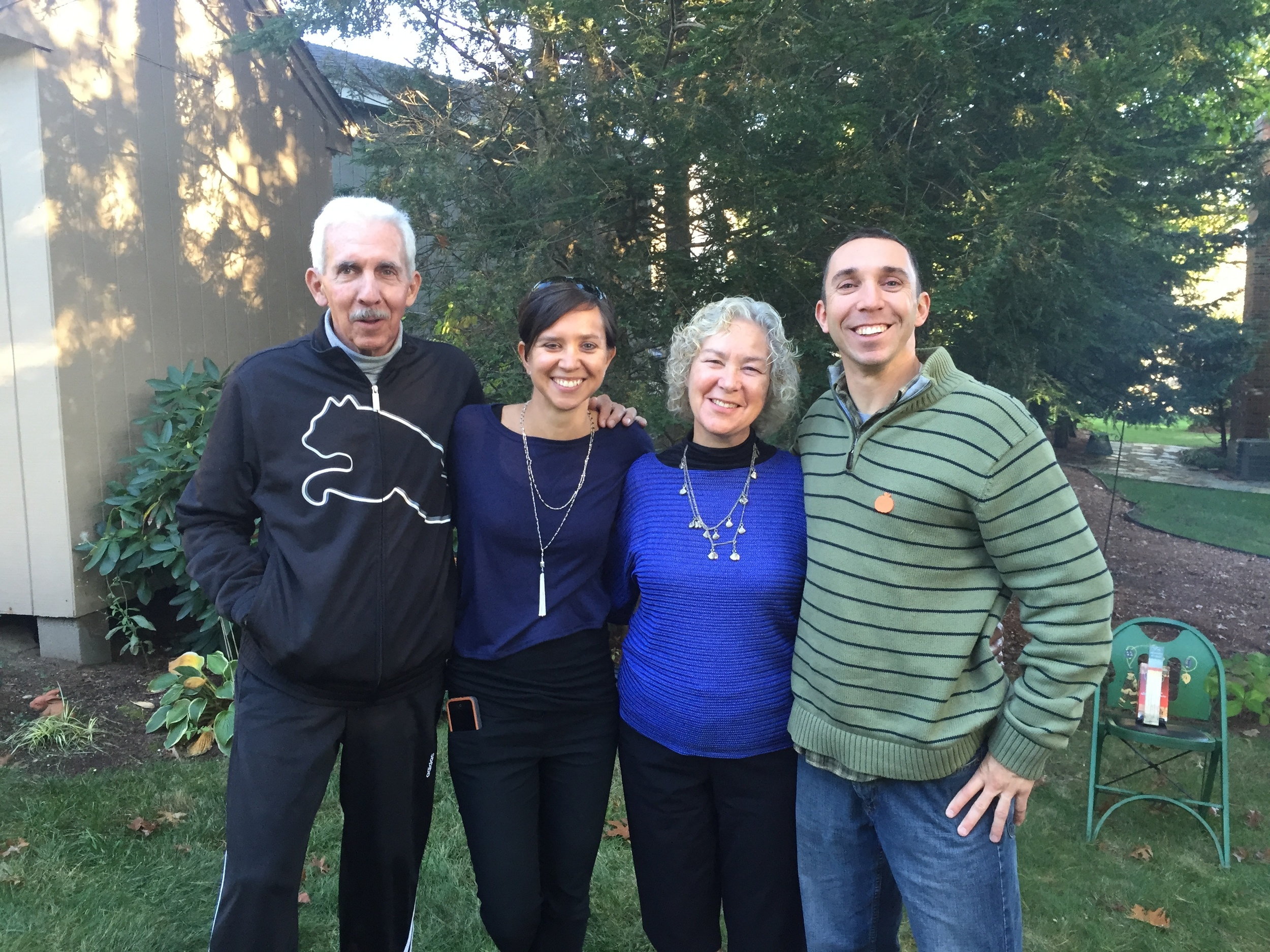 Family gathering in Fall 2014