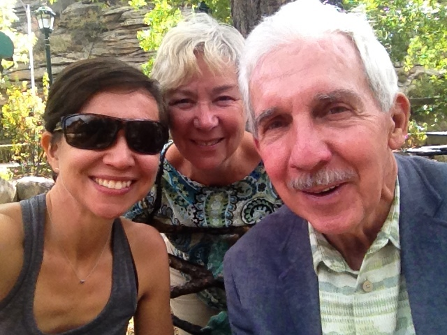 My parents and I visiting Estes Park, CO in the summer of 2015