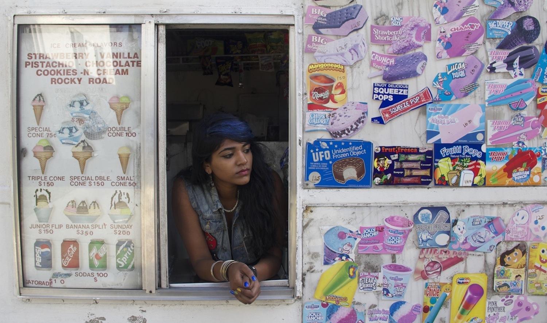 Still from film Ice Cream Wallah. Premiered at the Guanajuato Film Festival 2014