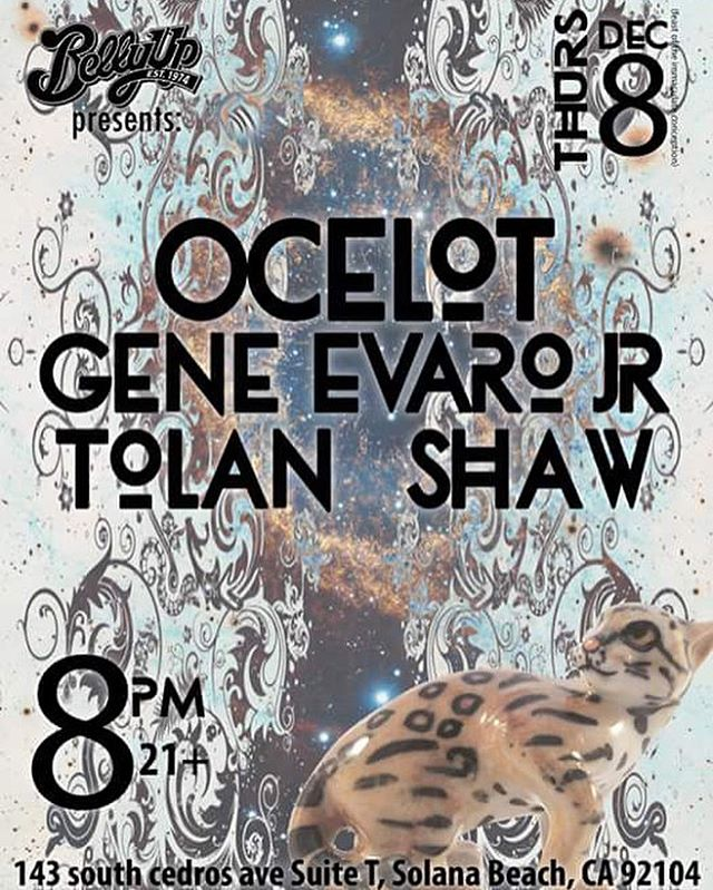 We couldn't be more excited or blessed to be back at one of our favorite venues playing with some amazing friends! Get your tickets early for December 8th (Thursday) at the @bellyuptavern joining us all the way from Joshua Tree CA @geneevarojr will be bringing the love and passion to SD as well local friends @tolanshaw bringing you some travel inspired tunes! We are so blessed and thankful for this opportunity and we hope to see all of your beautiful faces out!