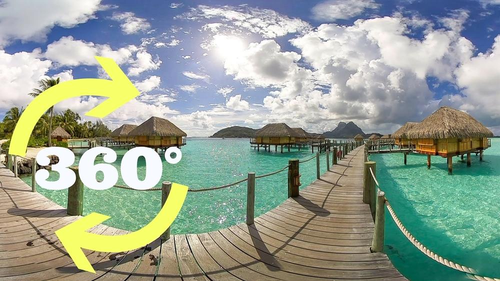 Bora Bora S Iconic Overwater Bungalows In 360 Superswellvr