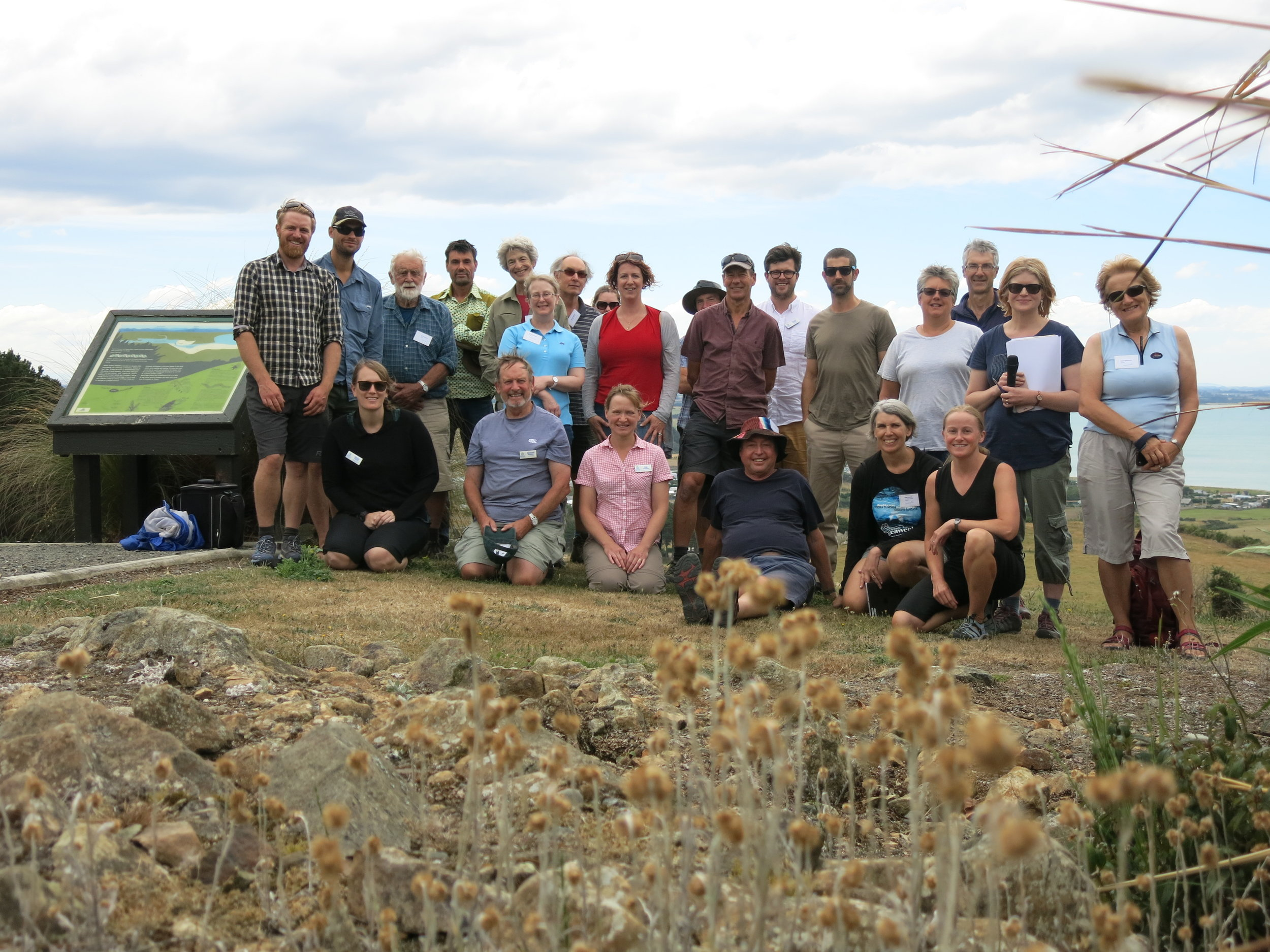Environment Southland and Catchments Otago field meeting, January 2018
