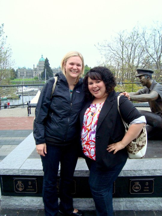 Celenia and I. Image (c) Arianna's Random Thoughts