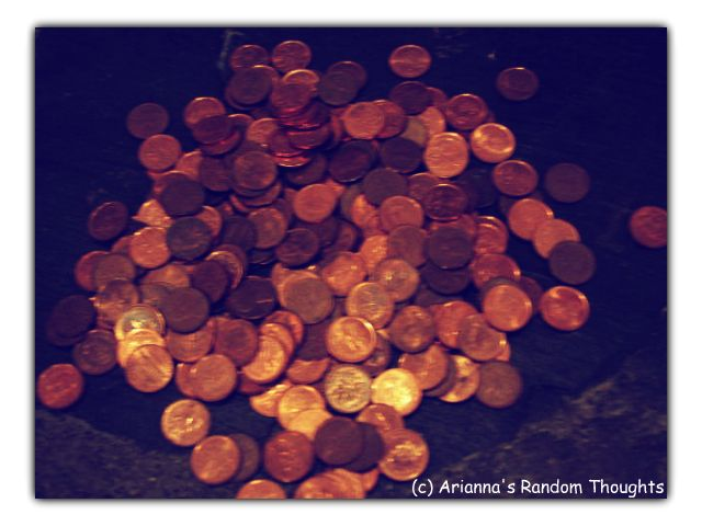 The pile of pennies