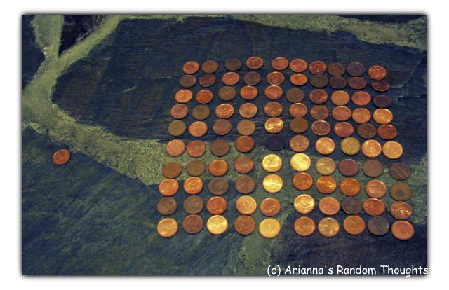 1 Penny Vs. 100. Think of the difference you could make.