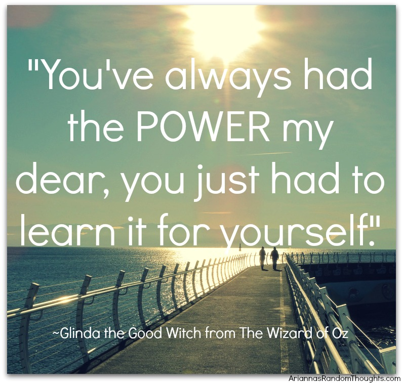 power for yoursef