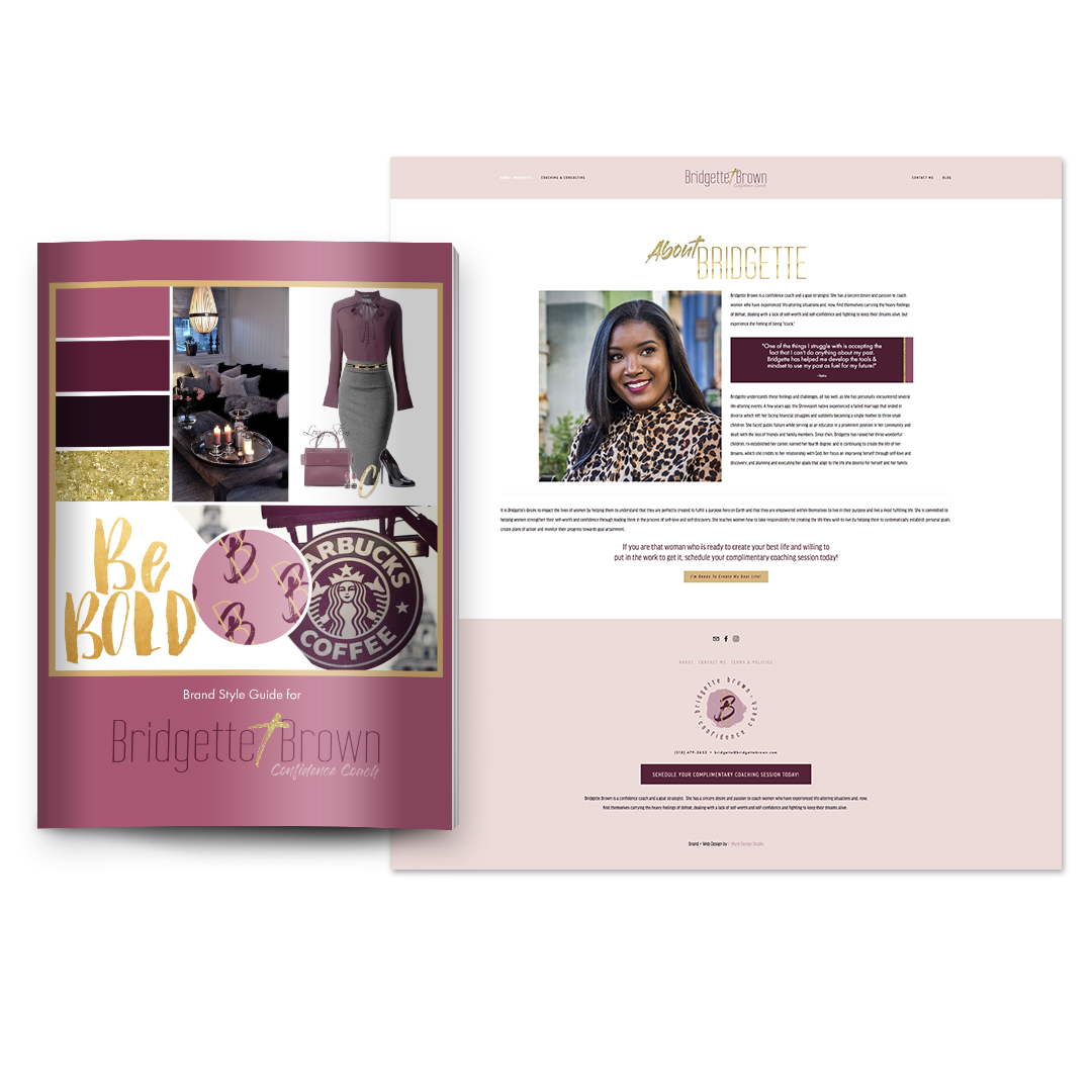 Luxe Brand + Web Design - Investment: 4 payments of $1275$4997 when paid in fullTimeline: 5 weeks