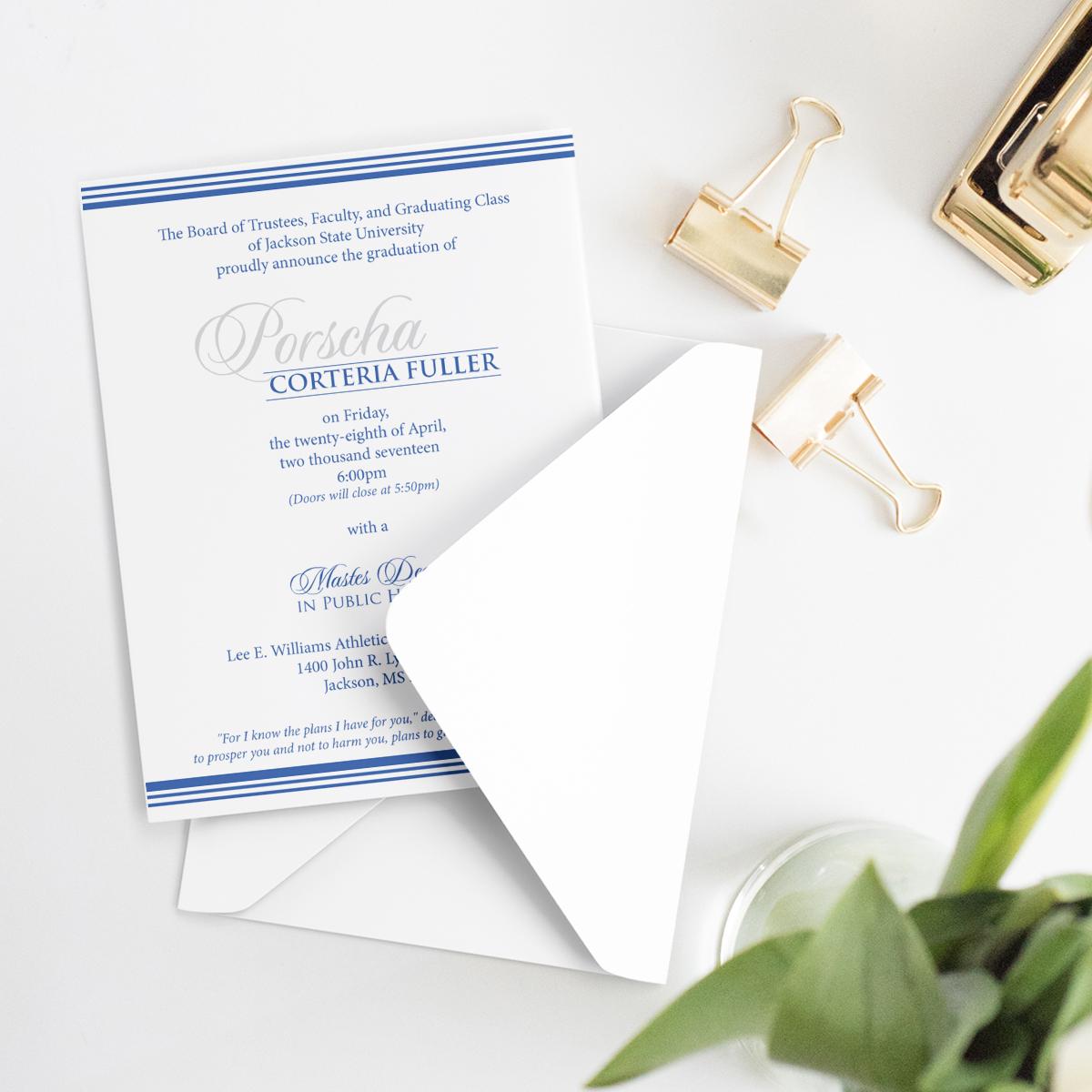 Standard Invitation -