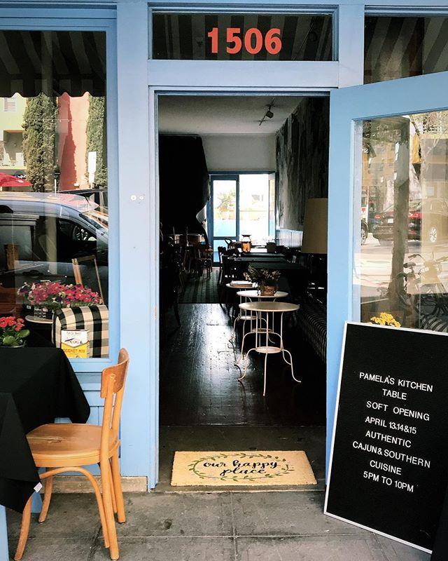Tonight's Dinner at Pamela's Kitchen Table for Cajun & Southern Cuisine 🥘  @pamelaskitchen . . . #newrestaurantopening #cajunfood #sandiegorestaurants #littleitalysd #cajuncuisine #littleitalysandiego