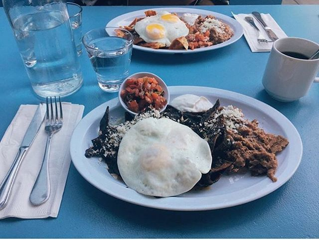 Thanks for sharing @itsafooodaddiction our Mole Chilaquiles 🙌🏻🤤 💕 #yum #chilaquilesforbreakfast . . . . . #foodporn #food #fodie #foodiegram #foodaddiction #mexicanbreakfast #chilaquiles #chilaquileslover #sandiegobrunch #sandiegobreakfast #sandiegorestaurants