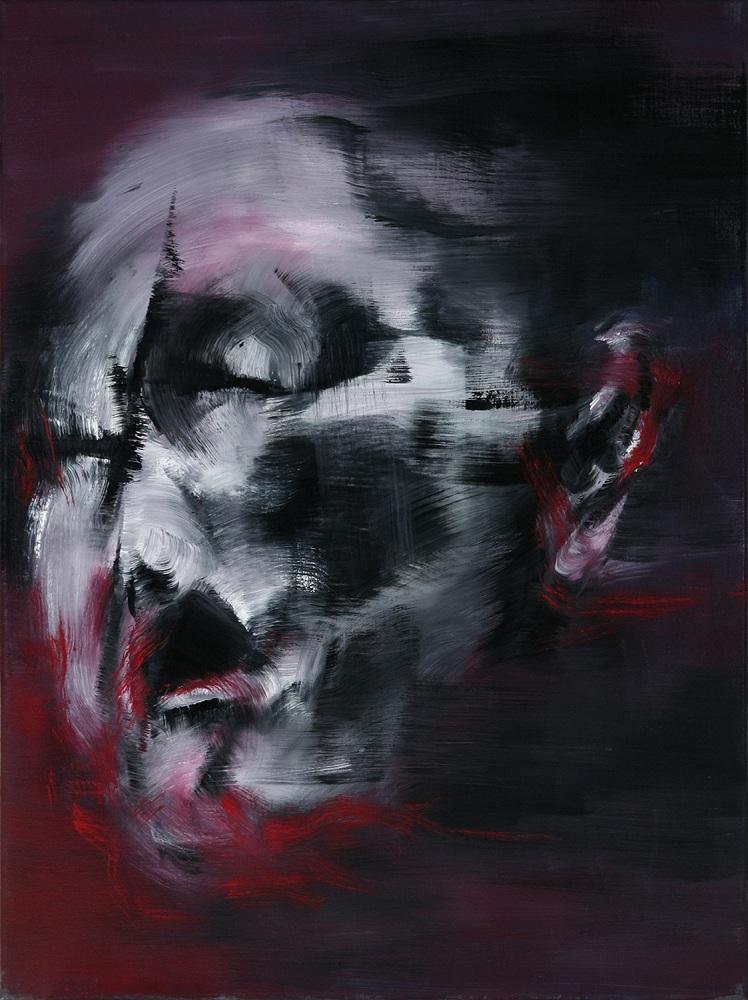 Portrait in Crimson