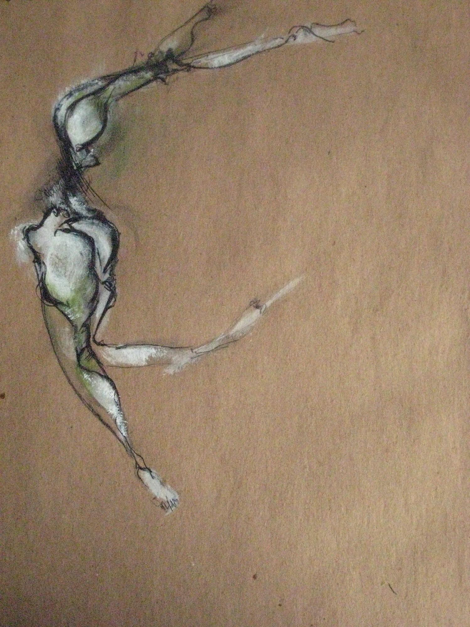 acrylic, watercolor, pencil, 2008  16 x 20 inches