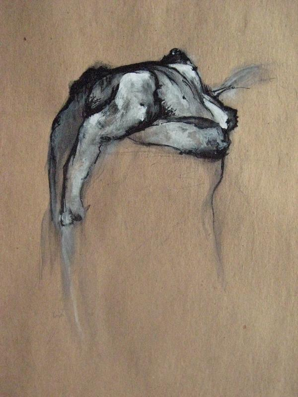 acrylic, watercolor, pencil, 2008  11 x 15 inches