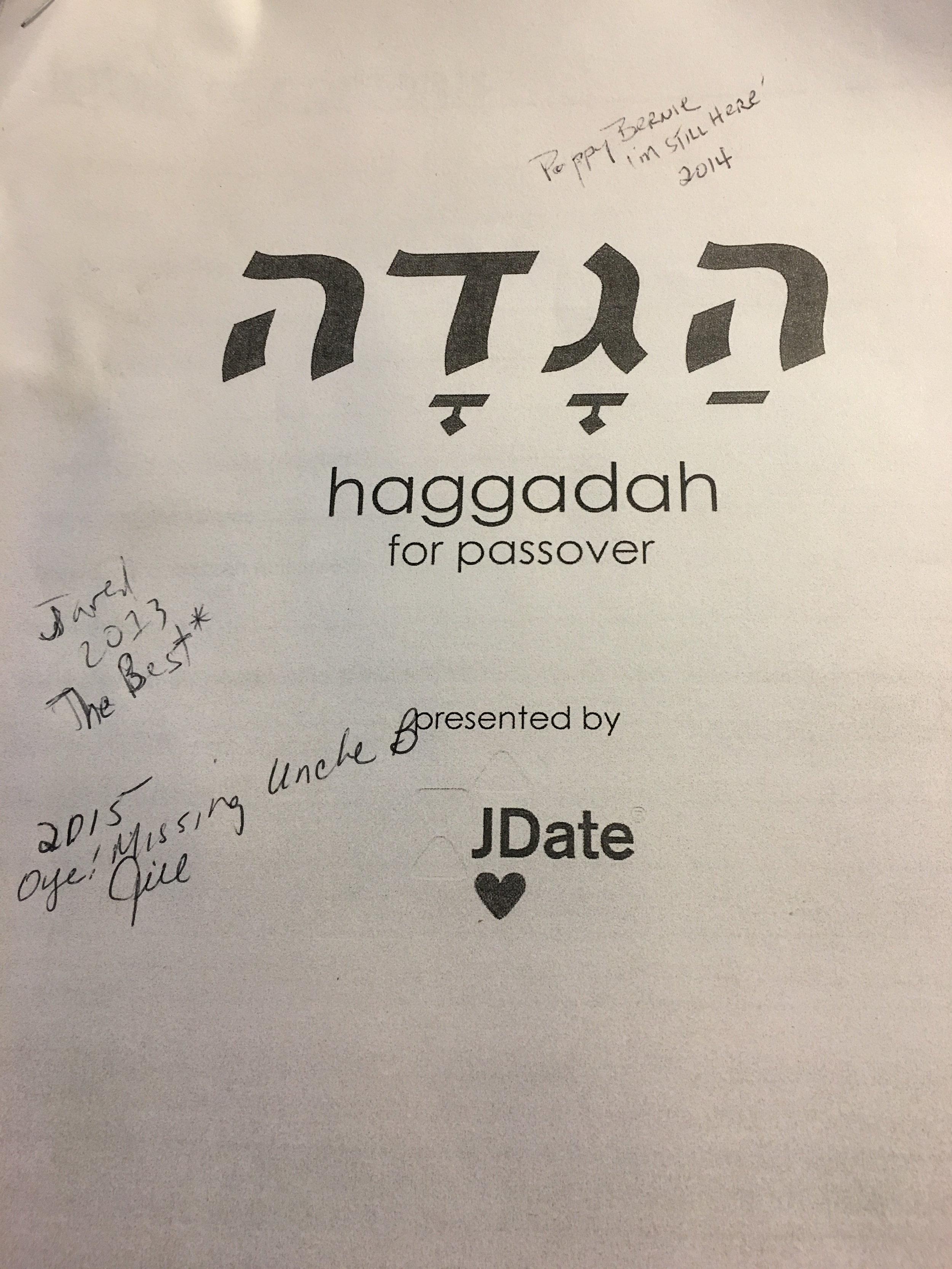 JDate_Haggadah
