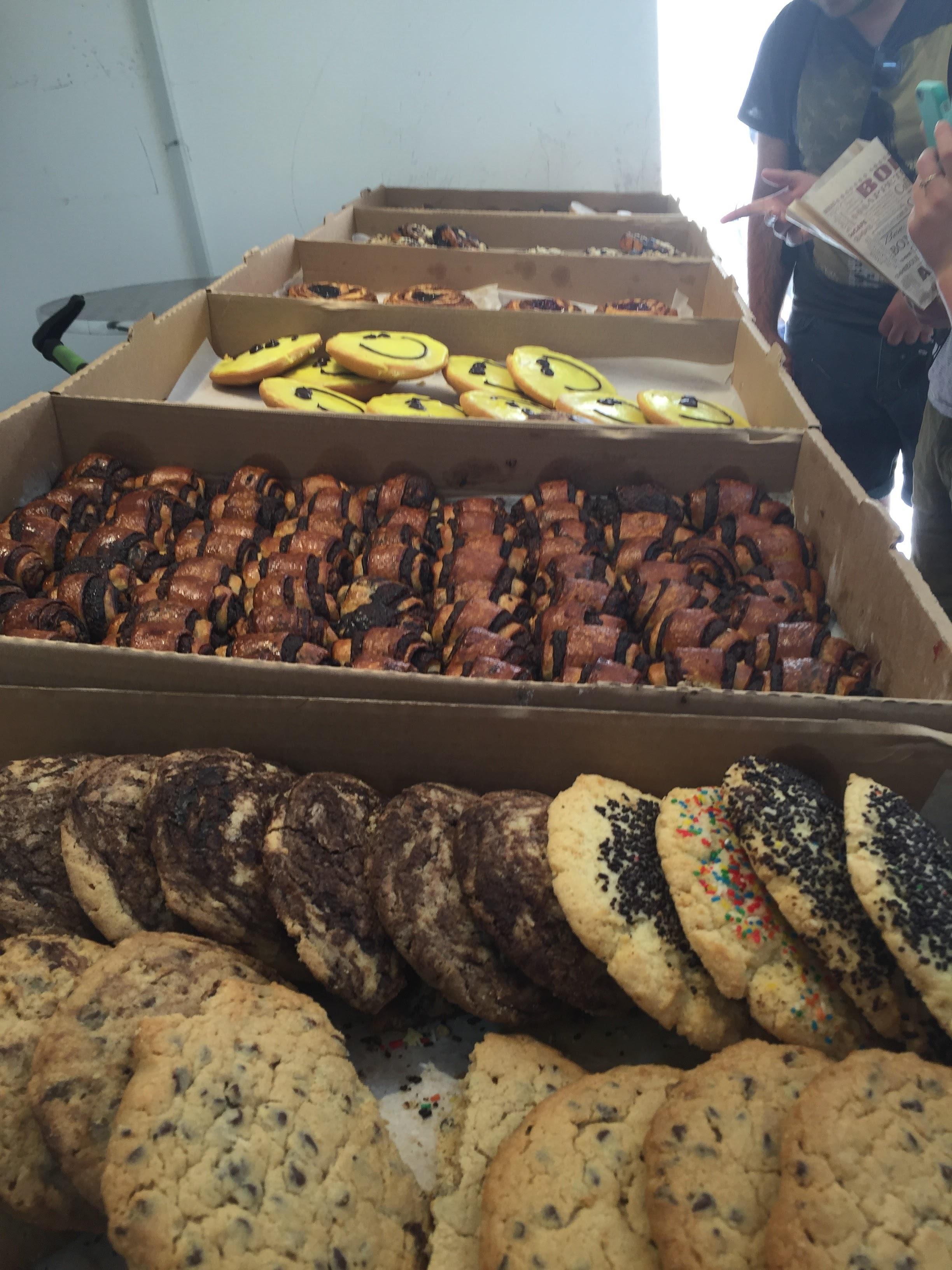 Snack break in Jerusalem