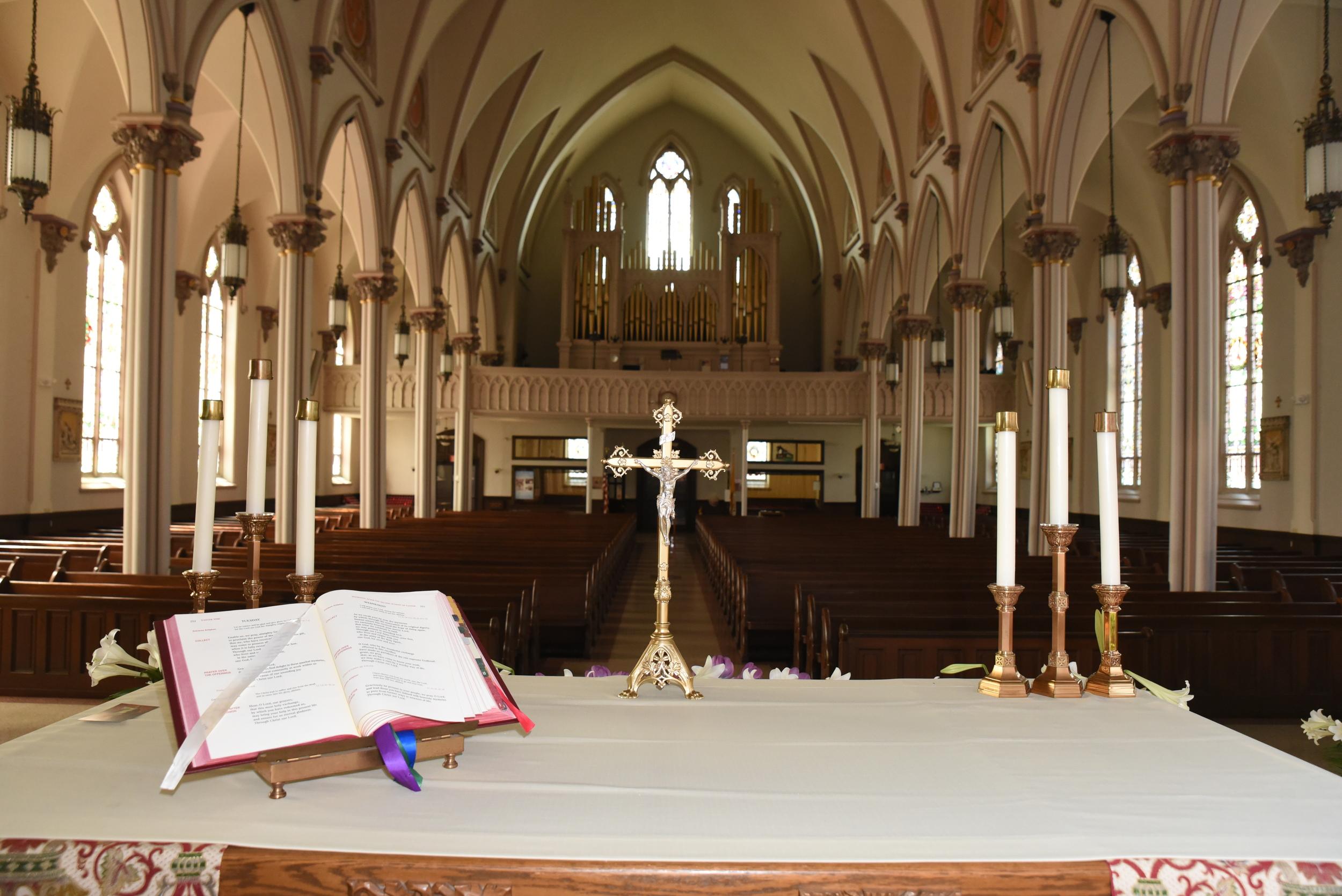 Saint Joseph Church Fall River Altar View