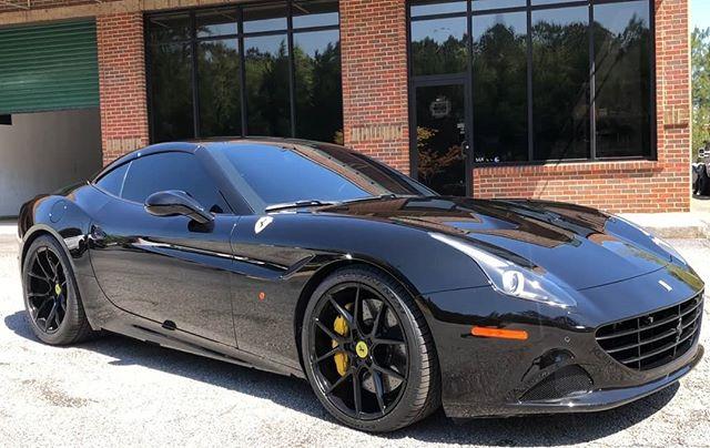 Summertime fun! Congratulations to one of our best clients on this Ferrari California! Convertible season is here! 😎☀ 🌴 . #atlantaexotics #Lamborghini #Huracan #exotic #aventador #gallardo #spyder #ferrari #California #convertible #488 #458 #f12 #dupontregistry #forsale #carsofinstagram #sold #carbonfiber
