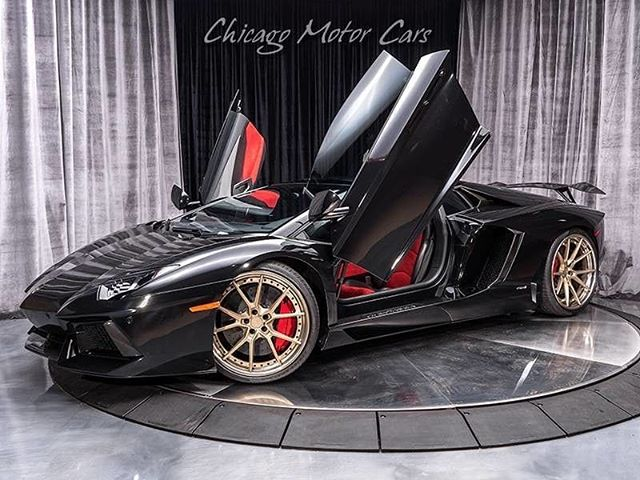 Congratulations to his Lordship 👑 @thelordofbeauty on his new Lamborghini Aventador. May California bring you many sunny days of enjoyment! .  This Aventador is loaded Carbon Fiber and lots of Upgrades! .  Thanks to @chicagomotorcars for a great car! . #atlantaexotics #Lamborghini #Huracan #exotic #aventador #sv #gallardo #murcielago #squadracorsa #blacklist #dupontregistry #forsale #carsofinstagram #sold #carbonfiber