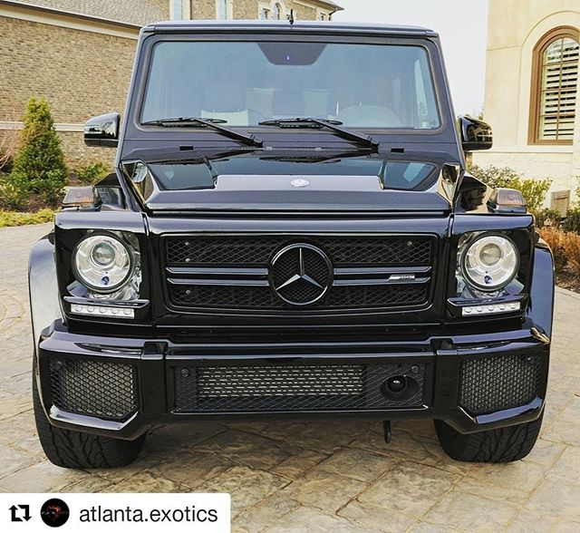 Blacked out 2016 G63 For Sale! $114,995 Check out our website for more info. .  #mercedes #mercedesbenz #g63 #blacklist #german #atlantaexotics