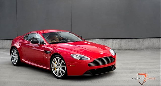 Just in! Available for sale! 2014 Aston Martin Vantage  Huge Msrp! Custom Ferrari Rosso Corsa paint and Beige Interior!  2950 miles Asking $76,995 Please call 678-362-5585 with inquiries. Link in Bio to website with full size pictures and more information! .  #lamborghini #huracan #aventador #gallardo #porsche #forsale #dupontregistry #spyder #astonmartin #vantage #911 #mclaren #650s #570s #pagani #huyra #murcielago #ferrari #458 #458spyder #bentley #blacklist #atlantaexotics #atlexotics #corvette #z06 #mclaren #720s #superleggera #exoticlifestyle #blacklist