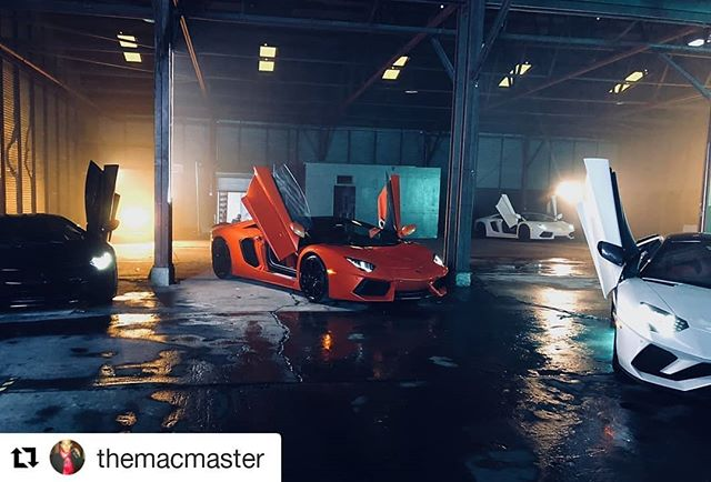 #Repost @themacmaster If you need Exotic cars for a shoot we have them! Give us a call! ・・・ Pumpkin 🎃 on set working while we are away at an undisclosed location for a top secret shoot. 🤔🤔 Thanks to @jbrwn for the assist. . #atlantaexotics #Lamborghini #Huracan #exotic #aventador #sv #gallardo #murcielago #squadracorsa #blacklist #dupontregistry #forsale #carsofinstagram #sold #carbonfiber