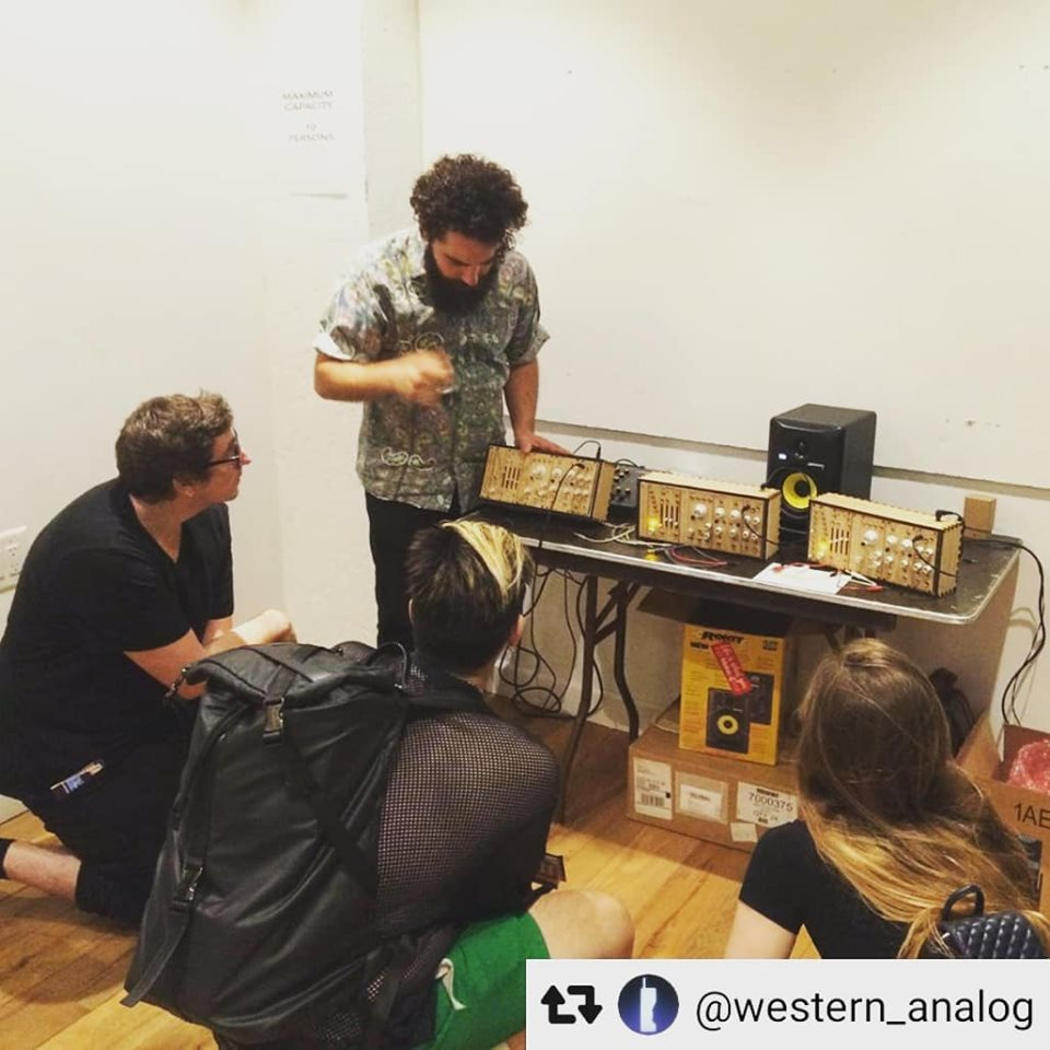 BK synth expo - Intro to Modular workshop