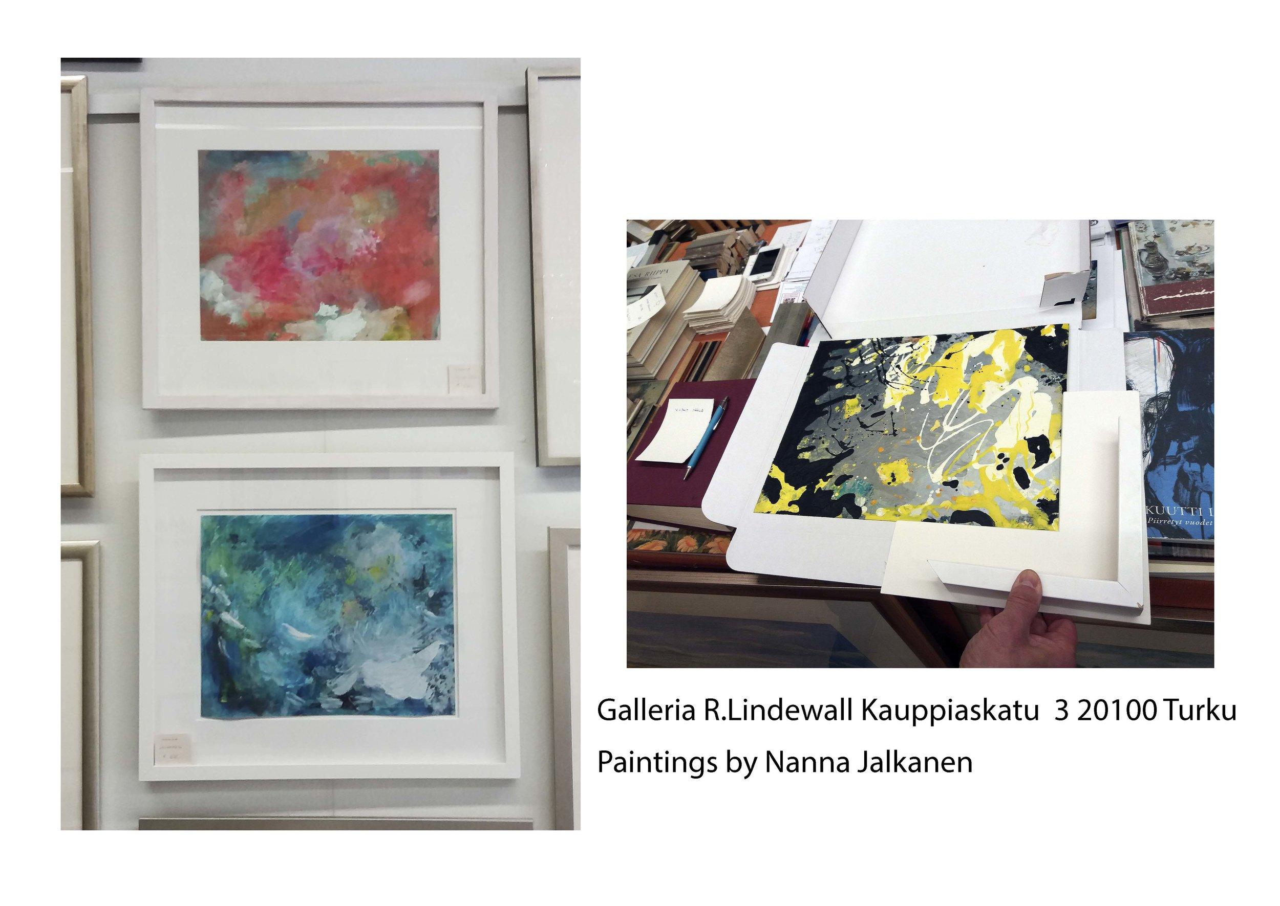 Gallery and framer R.Lindewall  in turku
