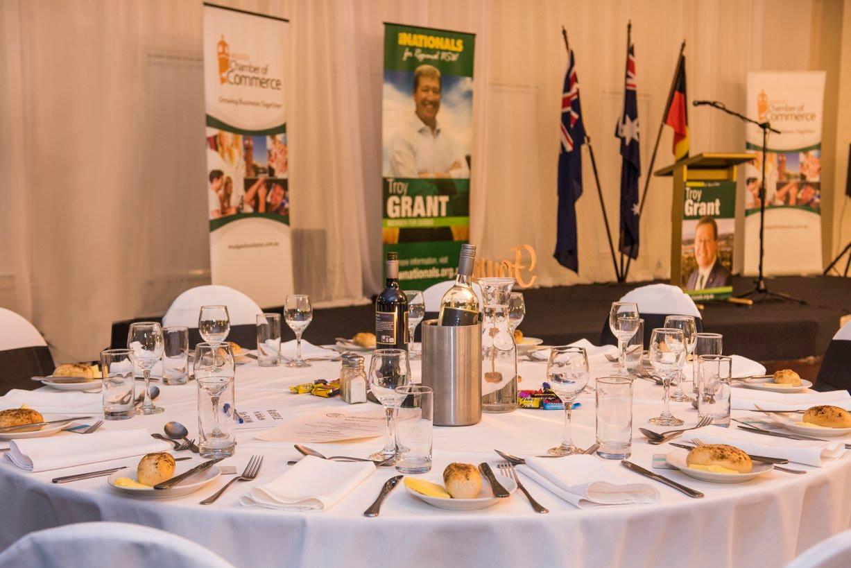 MCC Dinner with the NSW Treasurer