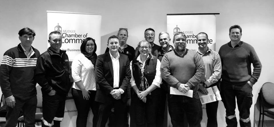 Our Committee for 2018  L-R: Ed TURNER, Rusty RUSSELL, Campbell McLEAN, Patrick BRENNAN, Sally DRYBURGH, Melanie TRETHOWAN, Greg DOWKER, Ed GEORGE, Kim GRIBBLE (on maternity leave)  Absent - Andrew PALMER, Adam EDWARDS, Laine MILLS