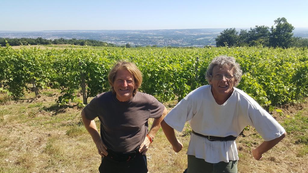 Jean Delobre (left)