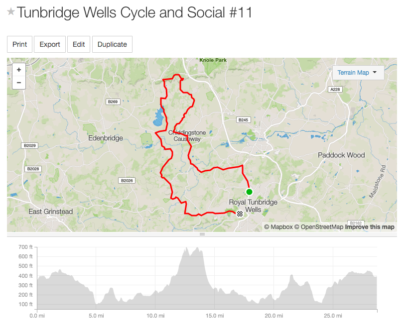 28.7mi Distance   2,308ft Elevation Gain  Download the route: https://www.strava.com/routes/4438712