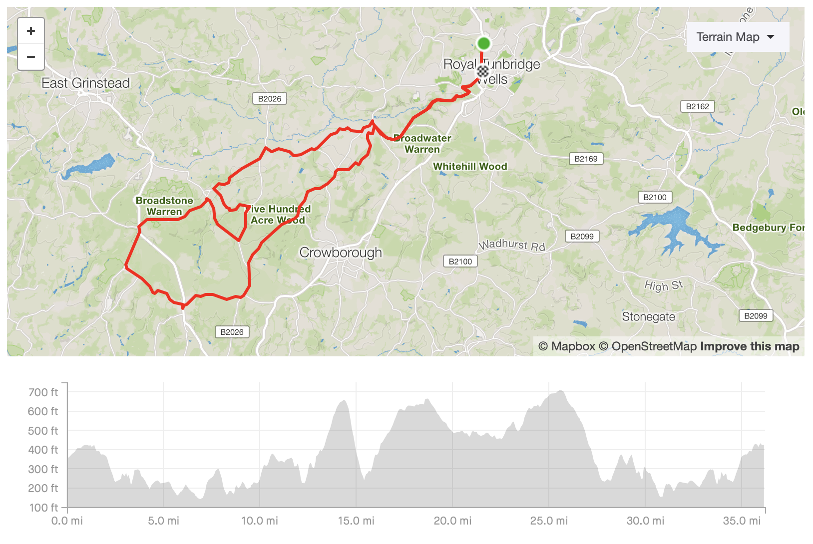 See the route on Strava    Download the GPX file