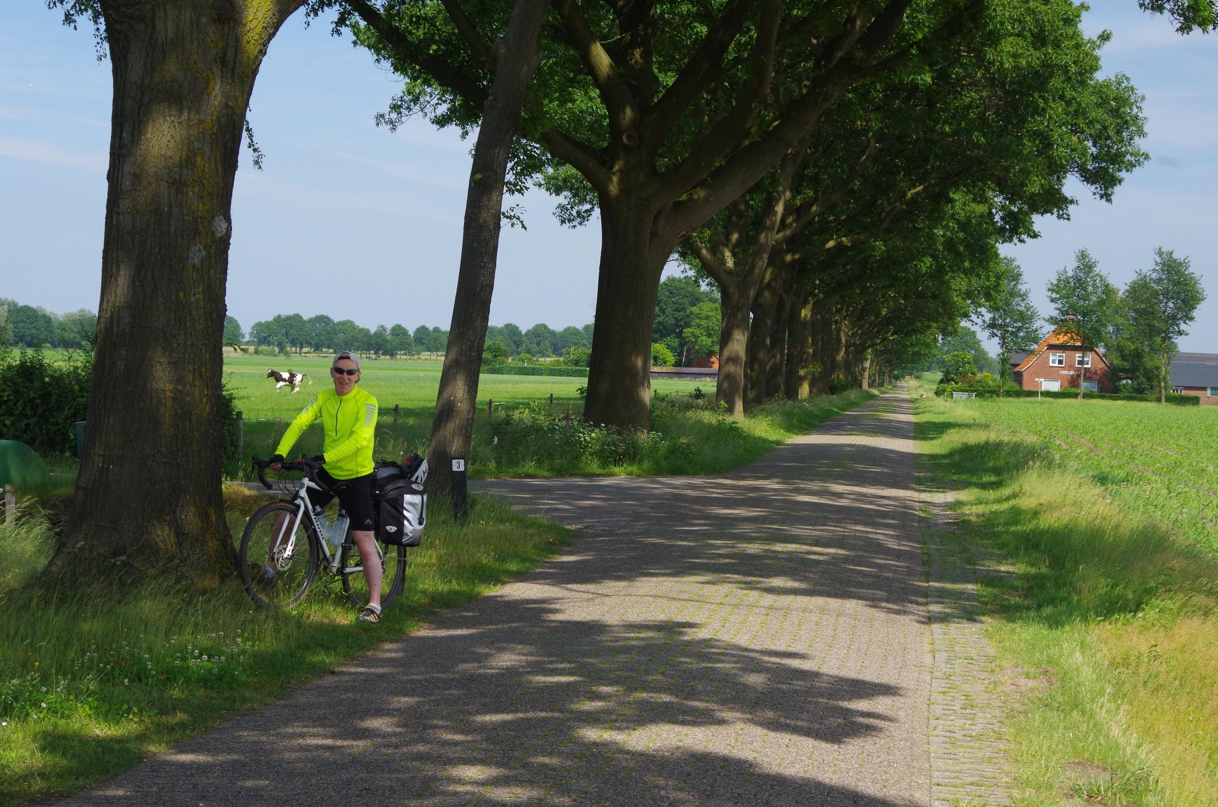 Back-roads near the Dutch-German border