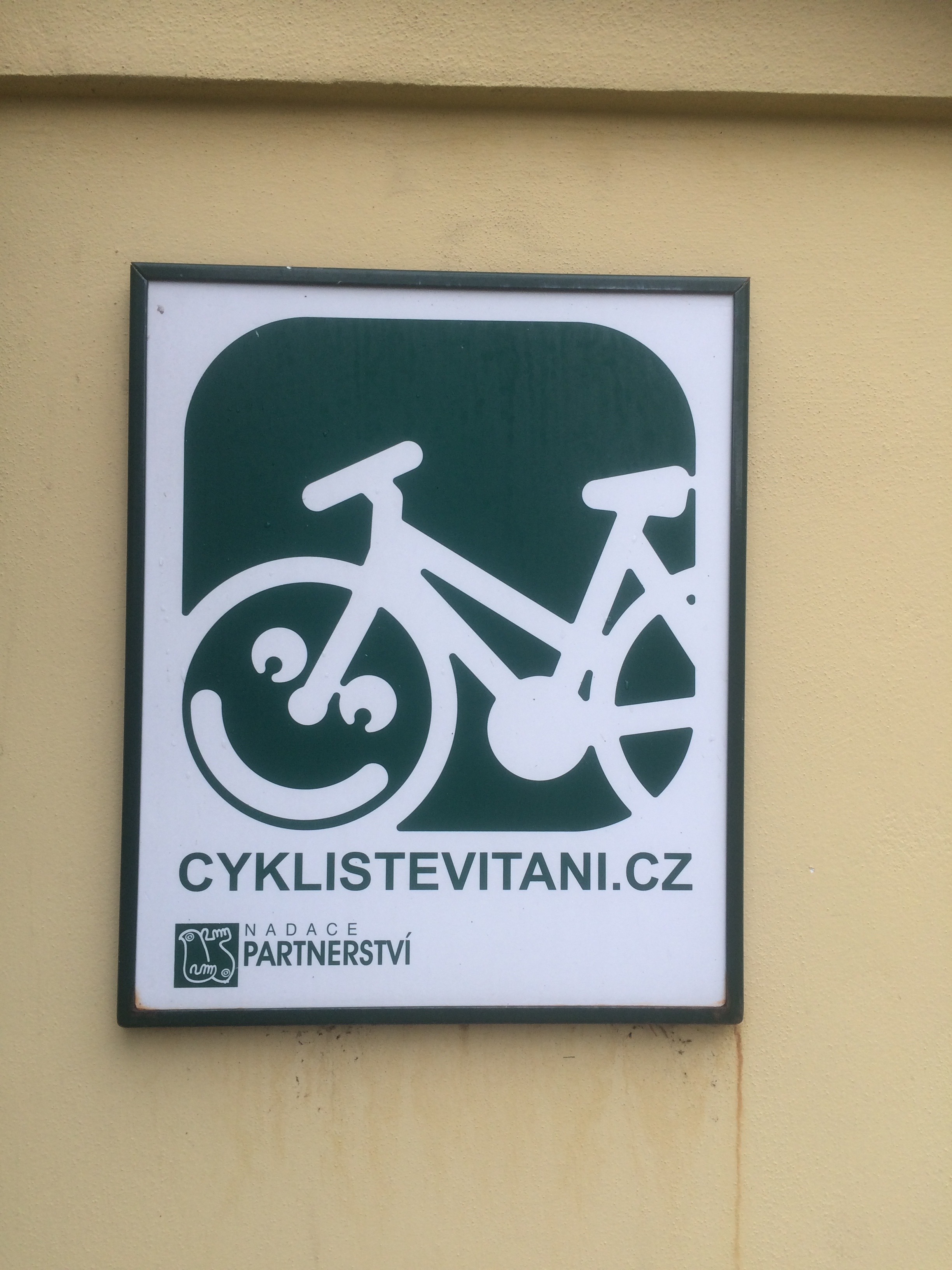 Cycle tourists welcome