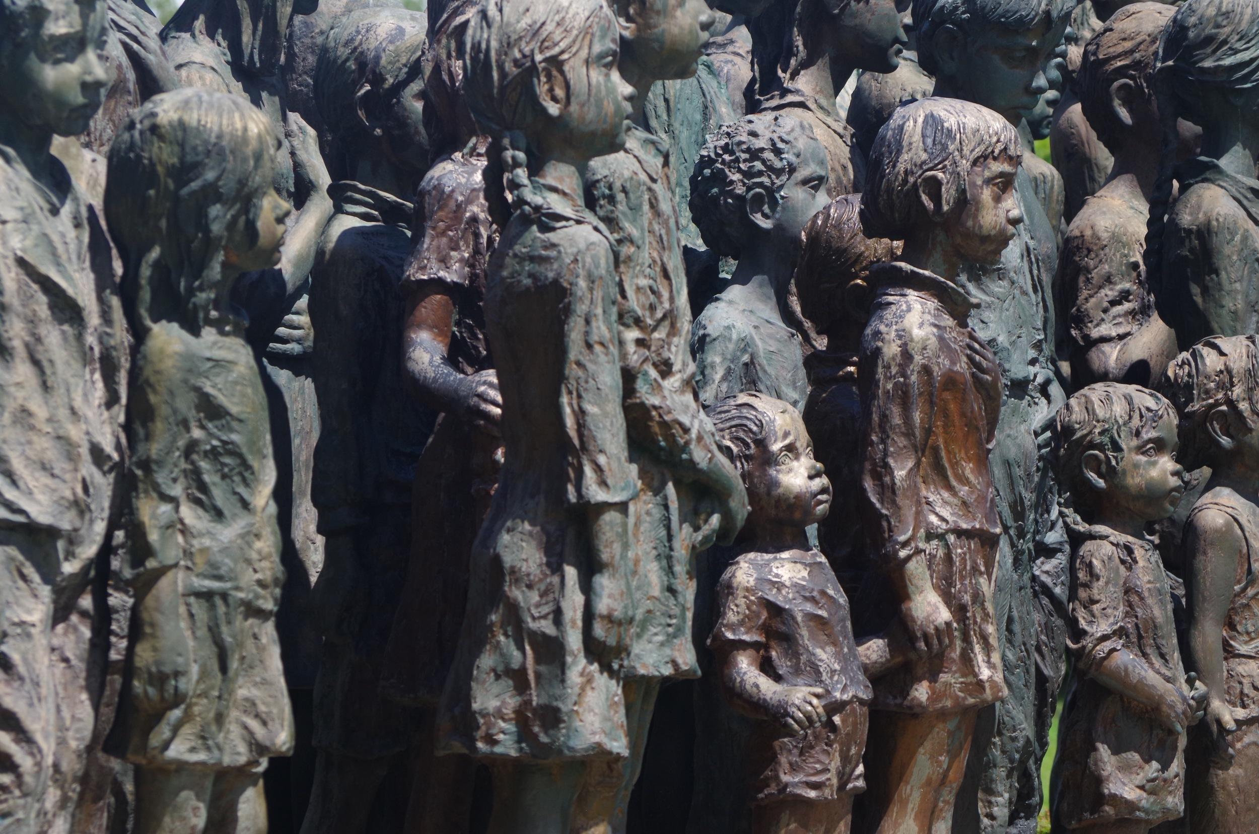 Memorial to the children of Lidice