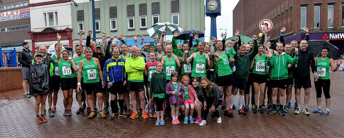 Trentham Running Club on a soggy Sunday morning...