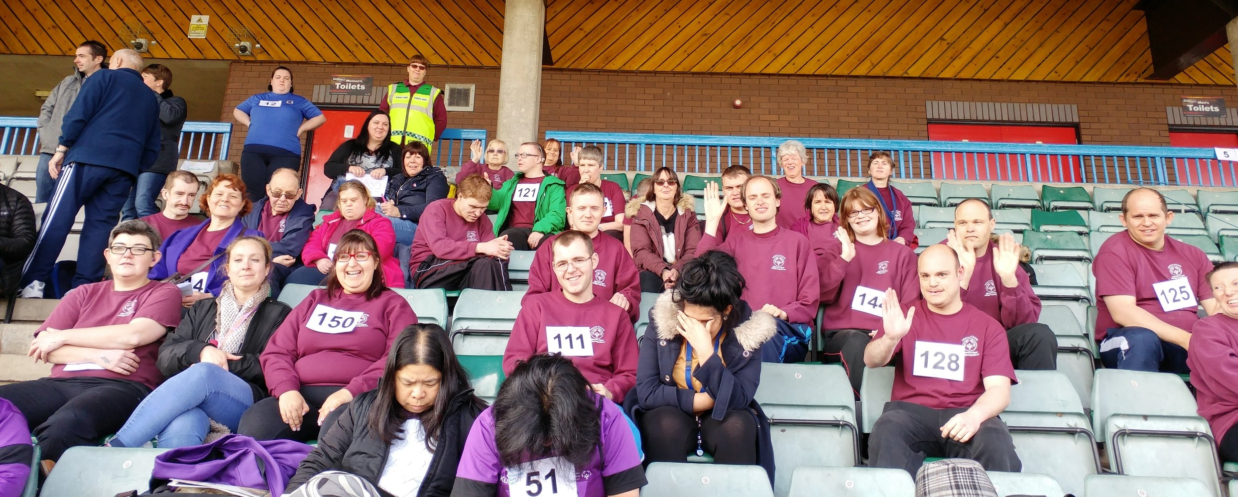 North Staffs Special Olympics team - winners all