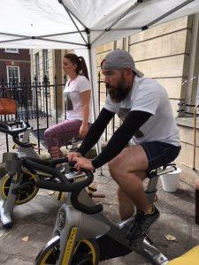 Fundraising Spinathon for   the   Brain Injury Café, Bristol