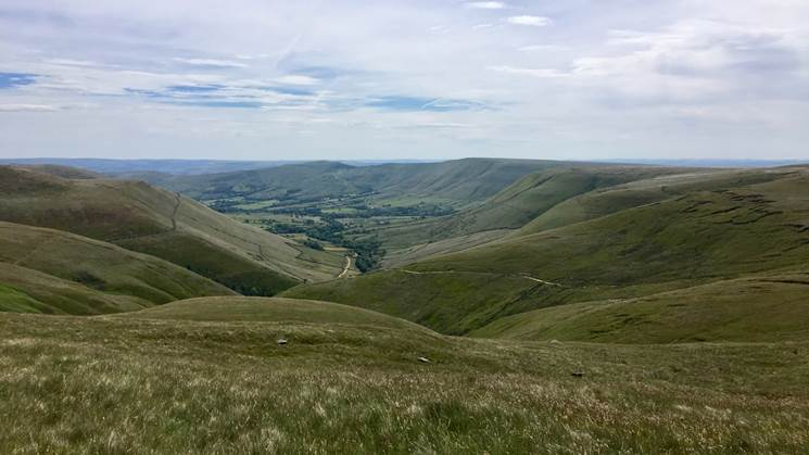 Views of the Edale Valley