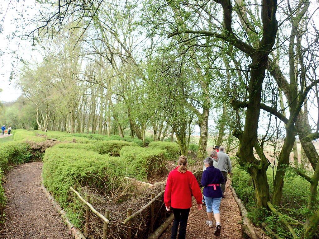 A poetry walk: at Westport Lake, en route to Middleport