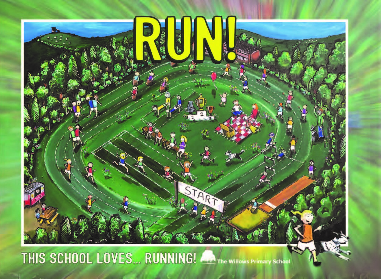 The third book in our  This School Loves…  series,  RUN!  is a celebration of all things running, written and illustrated by the children of The Willows Primary School in Penkhull, Stoke-on-Trent and in support of local charity Lucas' Legacy.
