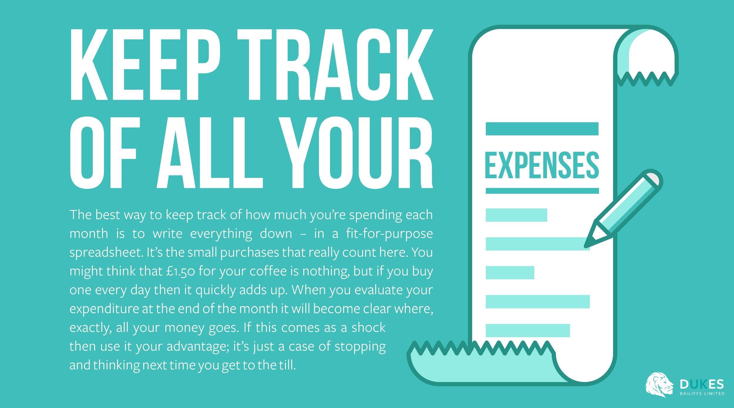 1. Keep Track of all your expenses - Dukes.jpg