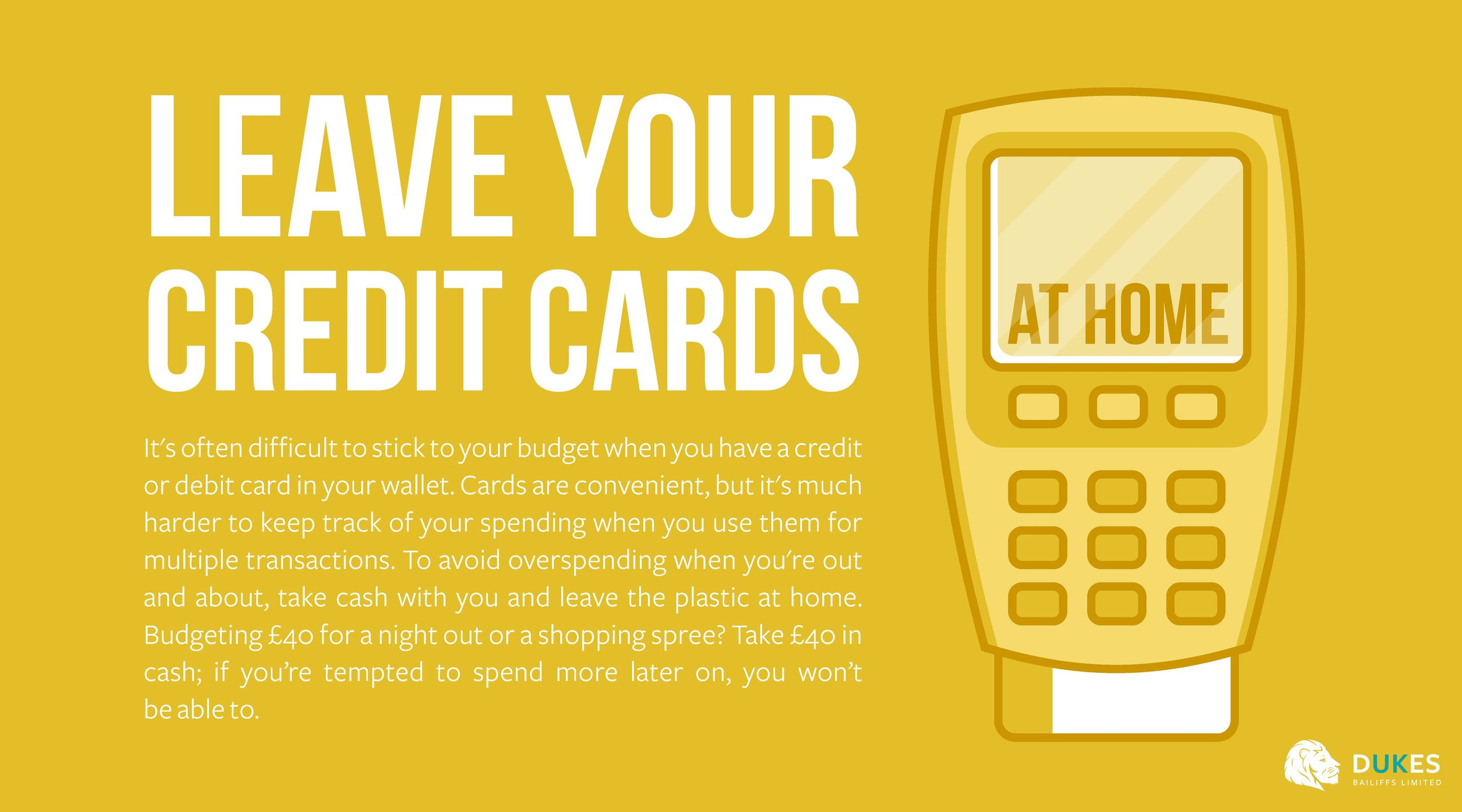 6. Leave your credit cards at home - Dukes.jpg