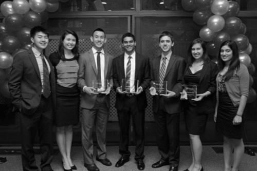5 time recipient of USC Org of the year -