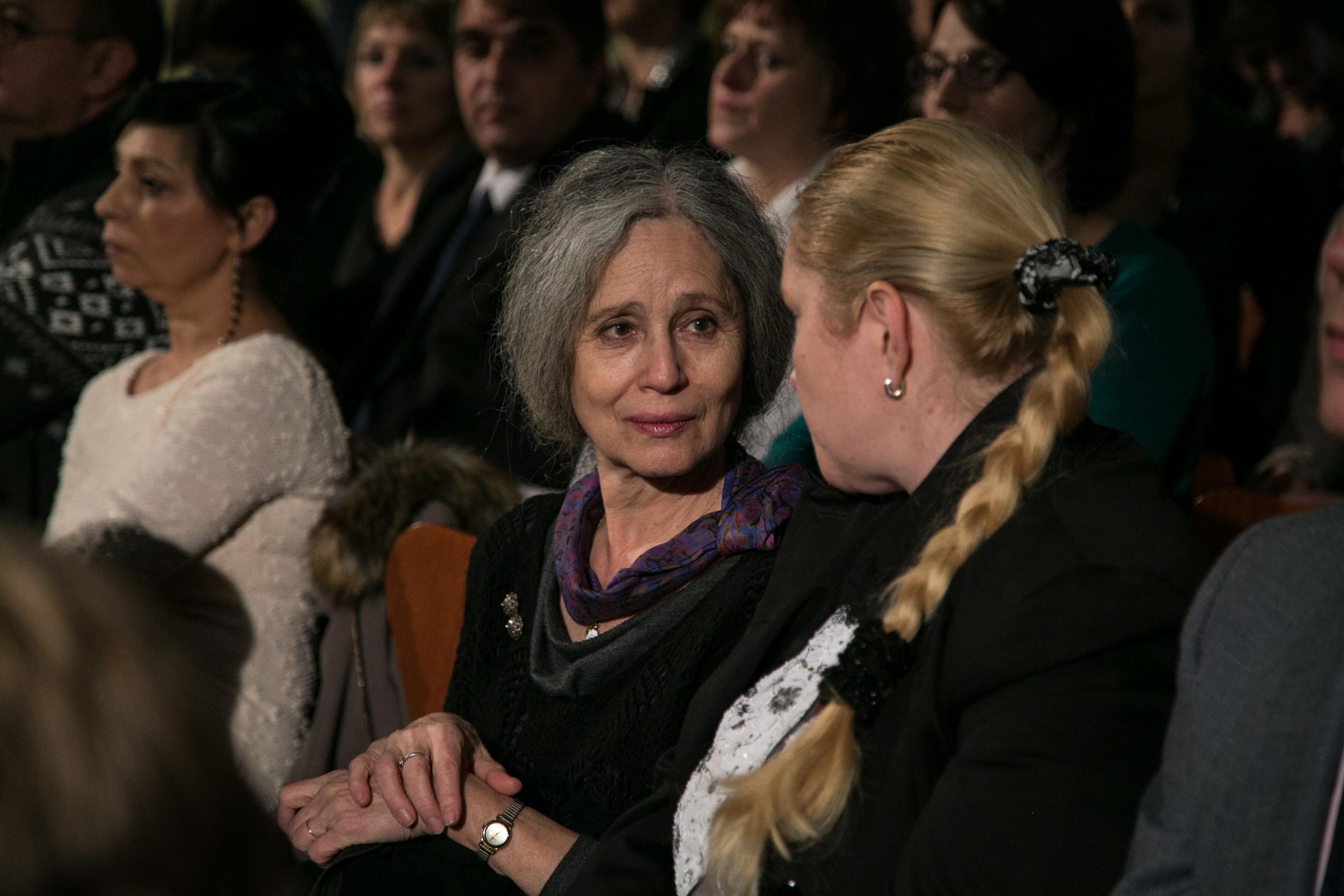 Mezi hosty byla i Taťana Fischerová s Lucií Rybovou, ředitelkou Českého helsinského výboru
