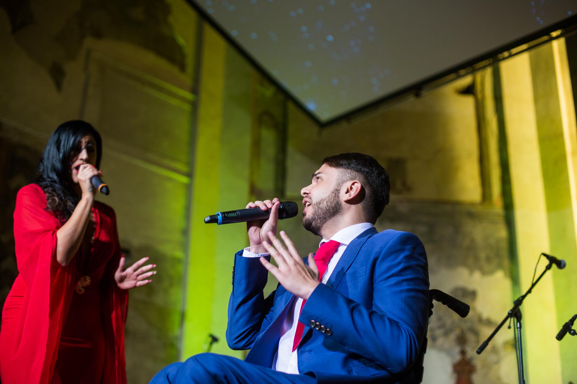 Ricco a Claudia zazpívali slavnou píseň Je suis malade.