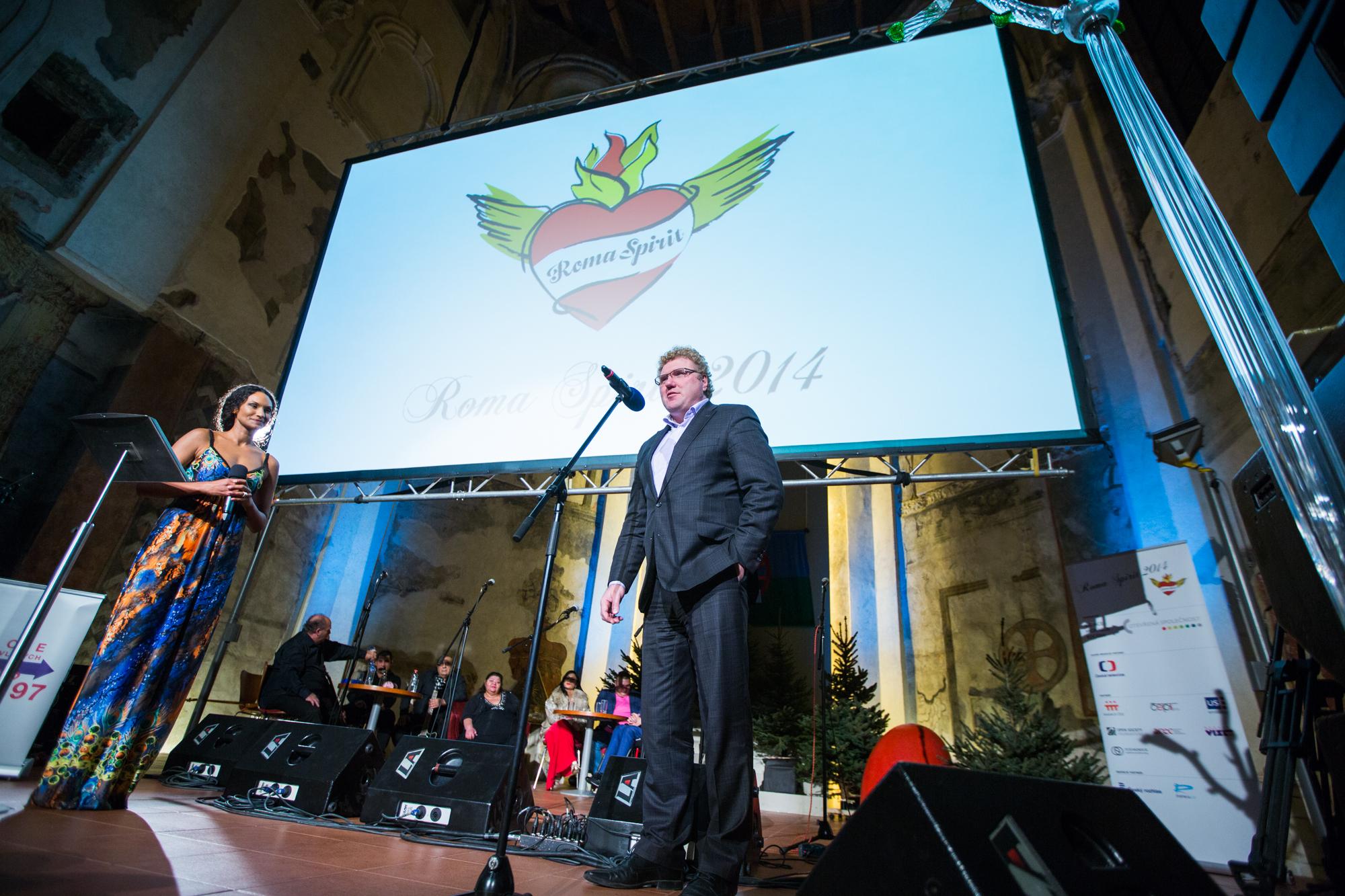 Programový ředitel ČT Milan Fridrich promluvil za Českou televizi, hlavního mediálního partnera.
