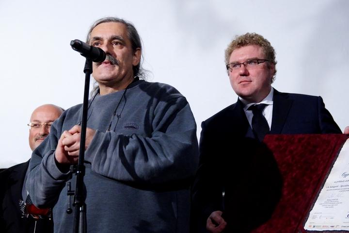 Novinář František Kostlán převzal cenu v kategorii Média.