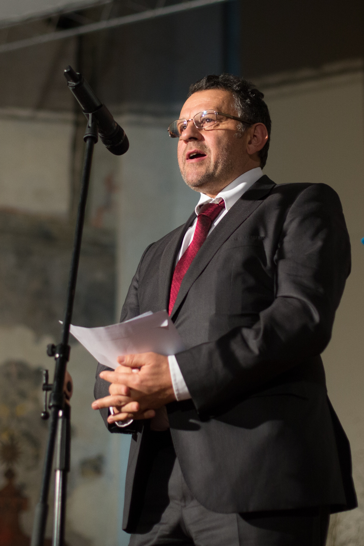 """Kálmán Mizsei, ředitele programu """"Efektivního čerpání dotací EU pro začleňování Romů"""" nadaceOpen Society Budapesť"""