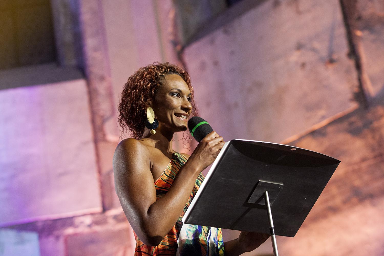 Slavnostní večer moderovala Lejla Abbasová